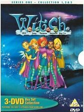 W.I.T.C.H Series 1 Volumes 1-3 DVD Box Set WITCH Original UK Rel R2 New Sealed