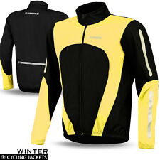 Cycling Jacket Thermal Winter Professional Cycling Running Wind Proof Windstoper