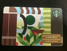 STARBUCKS Gift Card Coffee Press 2015 - FREE SHIPPING