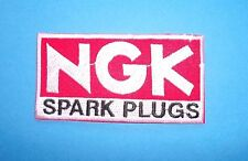 `MOTOR SPORT NGK`SEW OR IRON ON PATCH