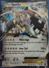 Pokemon TCG XY STEAM SIEGE : STEELIX EX 67/114