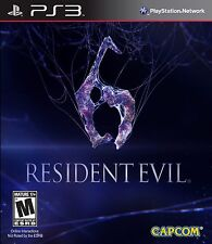 Resident Evil 6 -- Sony PlayStation 3 PS3 -- PERFECT CONDITION