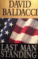 ���� Last Man Standing David Baldacci HardCover Book True  First Edtion VF NEW��