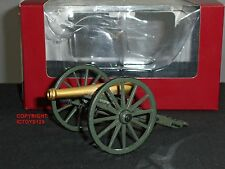 BRITAINS 31066 12LB NAPOLEONIC AMERICAN CIVIL WAR TOY SOLDIER FIGURE CANNON GUN