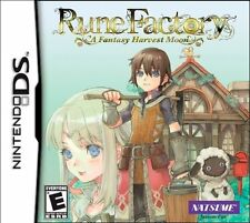 Rune Factory: A Fantasy Harvest Moon [Nintendo DS DSi, Video Game, Natsume] NEW