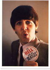 PAUL McCARTNEY - THE BEATLES - post card - UK