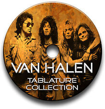 Van HALEN ROCK CHITARRA schede tablature SONG BOOK ANTHOLOGY CD del software migliori