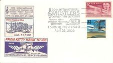 FROM KITTY HAWK TO ISS SPACE STATION, WRIGHT BROTHERS, 30TH WHISTLERS CONVENTION