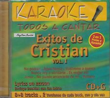 Cristian Castro Vol 1 Karaoke New Nuevo Sealed