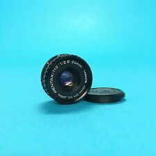 Pentax 24mm f2.8 Pentax-110 Lens SLR 110 Fixed Focal Kamera Camera SLR