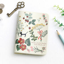 Ladies Passport Holder Cover Case Travel  Wallet  - Shinzikatoh Secret Garden