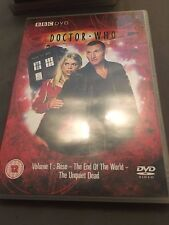 Dr Who Volume 1 Rose The End Of The World The Unquiet Dead DVD