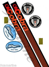OMC Cobra Remastered Stern Drive Vinyl Decal Set (not OEM)