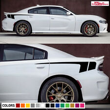 Decal Vinyl Graphic Rear Quarter Panel Stripes for Dodge Charger RT 2011-2017