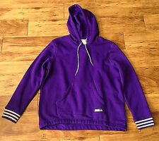 Adidas Women's AG Fleece Pullover Hoodie - XL - Purple - New with Tags