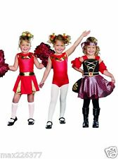 new High Spirits 3 In 1 Halloween Costume Cheerleader Gymnast Pirate Child 6-7 ⭐