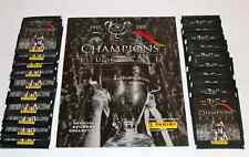 Panini CHAMPIONS OF EUROPE 2005 LEERALBUM EMPTY ALBUM + 20 TÜTEN PACKETS