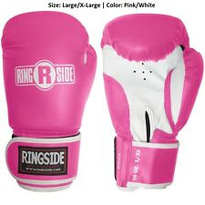 Kit Boxing Fitness Heavy Punching Gloves Training Sport Equipment L/X-L Pink New