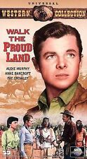 Walk the Proud Land VHS Western Collection Audie Murphy Anne Bancroft