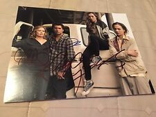 Fear The Walking Dead Cast Signed by 4 8x10 Photo *Curtis,Dickens,Carey,Dillane*