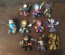 Funko Mystery Minis League of Legends Lot of 10 - Twisted Fate, Lux Morgana Jinx