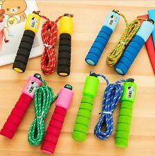 With Digital Counter Adjustable Skipping Rope 8.8FT Adult Boxing Exercise Jump