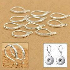 20pcs.925 Sterling Silver LEVERBACK French Hook Earwire Earring Findings DIY