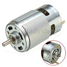 775 DC 12V-24V 3500-9000RPM Motor Ball Bearing Large Torque High Power Low Noise