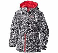 "COLUMBIA® Girls' 6/6X ""Ready, Set, Snow"" Thermal Coil Jacket NWT"