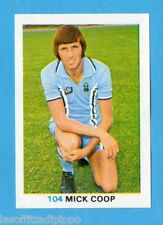 INGHILTERRA-SOCCER STARS 1977/78-FKS-Figurina n.104- COOP -COVENTRY CITY-Rec