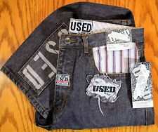 Vintage 90's Get Used By Elie Jeans NEW! mens womans sz 32 x 32 1/2 hip hop 2Pac