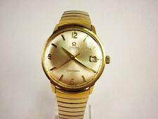 OMEGA 1966 SEAMASTER  AUTOMATIC #562 24J SWISS S/S GOLD FILLED WRIST WATCH N/R
