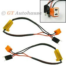 H7 Error Free Load Resistors Bypass Wiring Harness For Fog Driving Lights #DC4