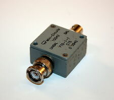 Mini-Circuits 15542 Coax RF Transformer 50 Ohm 0.2 to 500 MHz  BNC FTB-1-1