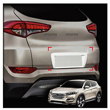Trunk License Number Plate Chrome Molding Garnish for HYUNDAI Tucson 2016-2017