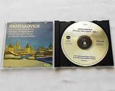 KAGAN-RICHTER-BASHMET/SHOSTAKOVICH Sonatas Op.134 & 147 CD REGIS RRC 1128 (2002)