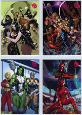 2014 Marvel Dangerous Divas series 2 Promo Set (4 cards) P1 P2 P3 P4