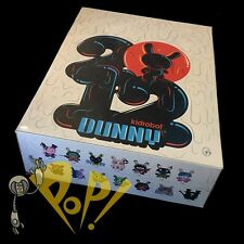 Kidrobot DUNNY 2012 Sealed Case of 20 VINYL Mini Figures KRONK Bell MAD Mizuno+!