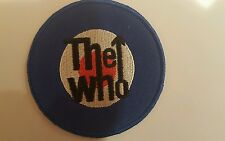 """The Who embroidered iron-on patch 3"""" x3"""" Rock Music"""