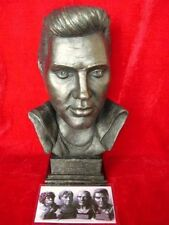 ELVIS PRESLEY BUST LIMITED EDITION FIGURINE SCULPTURE RARE MODEL LEGENDS FOREVER