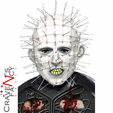 Adulto Maschera PINHEAD Hellraiser HALLOWEEN FANCY DRESS spaventosa LATTICE PIN HEAD MASK
