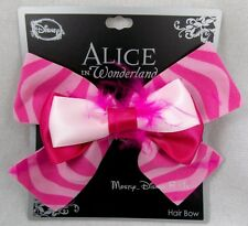 New Disney Alice In Wonderland Cheshire Cat Hair Bow Tie Clip Pin Cosplay Dress