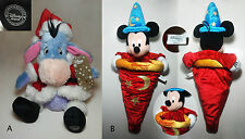 DISNEY STORE - Eyeore or Resort Christmas Stocking, Sorcerer Mickey Mouse Hat