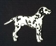 DALMATION 101 DALMATIONS CRUFFS SPOTTY DOG SHOW BREED BADGE IRON SEW ON PATCH