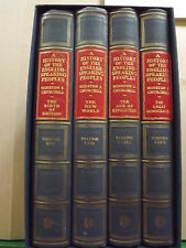 WINSTON CHURCHILL A HISTORY OF THE ENGLISH SPEAKING PEOPLES WITH SIGNATURE 1ST
