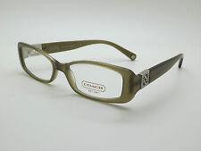 NEW Authentic COACH HC 6006B Savannah 5042 Olive 51mm RX Eyeglasses