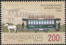 Hungary 2016 Trams/Horses/Public Transport/Rail/Bus/Animals/Motoring 1v (n45110)