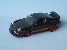 Matchbox Porsche 911 GT3 Black Body in BP Toy Model Sports Car 70mm
