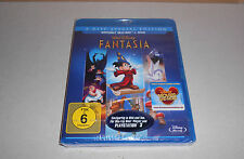 Blu Ray  Walt Disney Fantasia Blu Ray + DVD viele Extras Neu in Folie