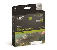RIO InTouch Extreme Indicator Fly Line - WF5F - Color Orange/Moss/Yellow - New